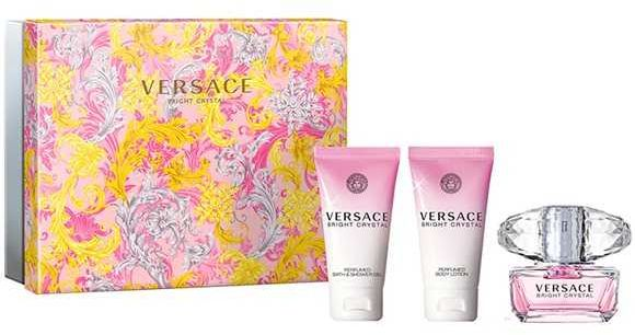 Versace Bright Crystal EDT 50мл+50 душ гел+50 лосион за тяло